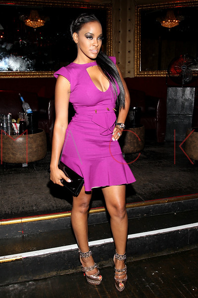 NEW YORK, NY - SEPTEMBER 08:  Malaysia Pargo of Basketball Wives of LA attends Jackie Christie's New York 2013 Fashion Week Cocktail Reception on September 8, 2012 in New York City.  (Photo by Steve Mack/S.D. Mack Pictures)
