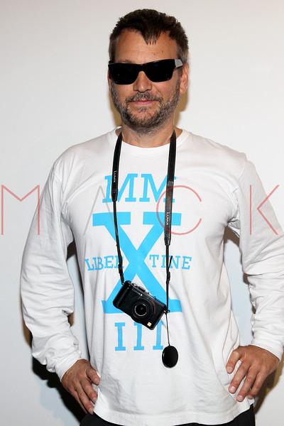 NEW YORK, NY - SEPTEMBER 10:  Designer Johnson Hartig attends the Libertine Spring 2013 Mercedes-Benz Fashion Week Show at Pier 57 on September 10, 2012 in New York City.  (Photo by Steve Mack/S.D. Mack Pictures)