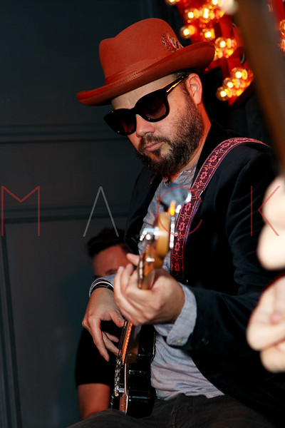 NEW YORK, NY - SEPTEMBER 18:  Branden Campbell of Neon Trees performs at Steve Madden Music Summer Series at Steve Madden on September 18, 2012 in New York City.  (Photo by Steve Mack/S.D. Mack Pictures)