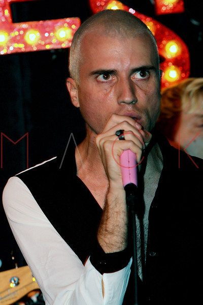 NEW YORK, NY - SEPTEMBER 18:  Tyler Glenn of Neon Trees performs at Steve Madden Music Summer Series at Steve Madden on September 18, 2012 in New York City.  (Photo by Steve Mack/S.D. Mack Pictures)