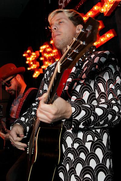 NEW YORK, NY - SEPTEMBER 18:  Chris Allen of Neon Trees performs at Steve Madden Music Summer Series at Steve Madden on September 18, 2012 in New York City.  (Photo by Steve Mack/S.D. Mack Pictures)