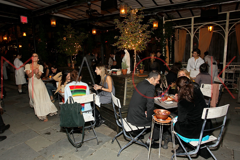 NEW YORK, NY - SEPTEMBER 20:  Atmosphere at The Opening Night Of Gallow Green at Gallow Green at the McKittrick Hotel on September 20, 2012 in New York City.  (Photo by Steve Mack/S.D. Mack Pictures)