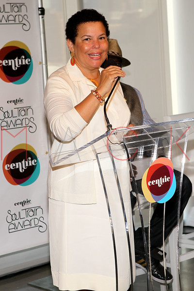 NEW YORK, NY - SEPTEMBER 19:  Chairman Debra Lee attends the Soul Train Awards 2012 press conference at the Glass Houses on September 19, 2012 in New York City.  (Photo by Steve Mack/S.D. Mack Pictures)