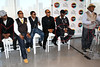 NEW YORK, NY - SEPTEMBER 19:  Bobby Brown, Mike Bivins, Ricky Bell, Ronnie Devoe, Johnny Gill and Cedric the Entertainer attend the Soul Train Awards 2012 press conference at the Glass Houses on September 19, 2012 in New York City.  (Photo by Steve Mack/S.D. Mack Pictures)