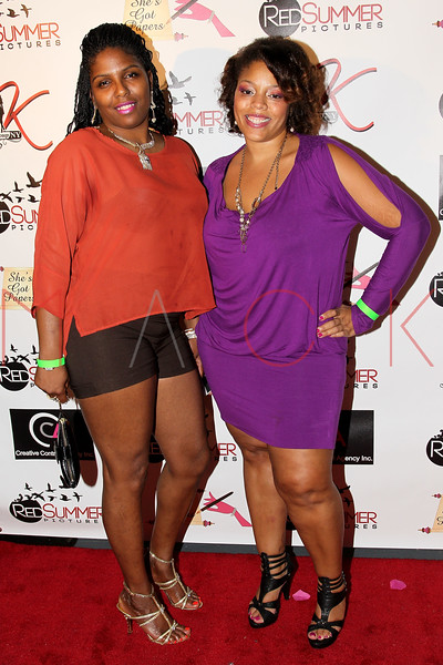 NEW YORK, NY - SEPTEMBER 28:  Stephanie McRae and Cindy Folson attend the Spread Love The Brooklyn Way After Concert Gala at Sanders Studio Loft on September 28, 2012 in the Brooklyn borough of New York City.  (Photo by Steve Mack/S.D. Mack Pictures)