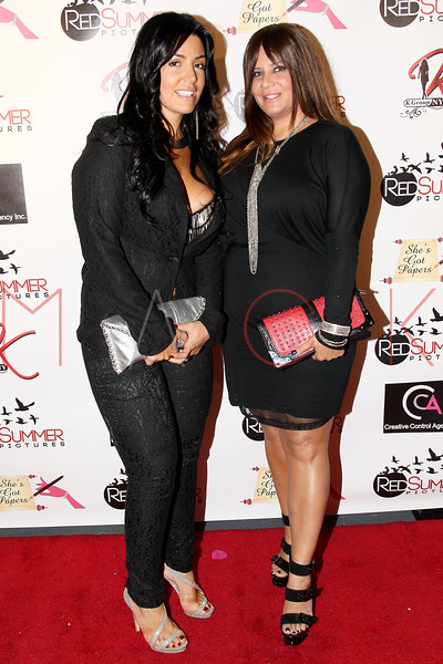 NEW YORK, NY - SEPTEMBER 28:  Ramona Rizzo and Karen Gravano attend the Spread Love The Brooklyn Way After Concert Gala at Sanders Studio Loft on September 28, 2012 in the Brooklyn borough of New York City.  (Photo by Steve Mack/S.D. Mack Pictures)