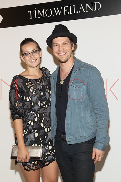 NEW YORK, NY - SEPTEMBER 09:  Gavin Degraw (R) attends the Timo Weiland Spring 2013 Mercedes-Benz Fashion Week Show at The Studio at Lincoln Center on September 9, 2012 in New York City.  (Photo by Steve Mack/S.D. Mack Pictures)