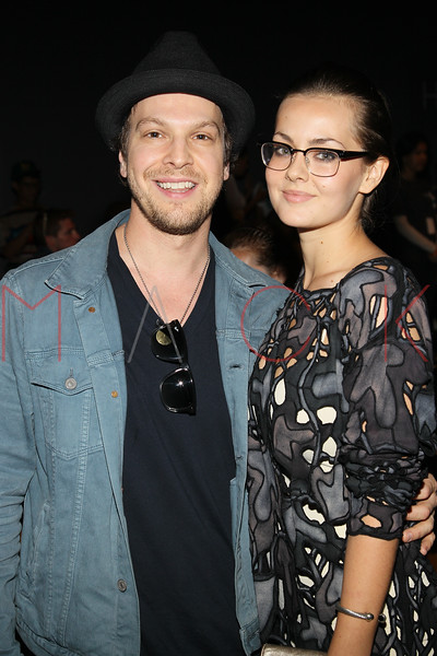 NEW YORK, NY - SEPTEMBER 09:  Gavin Degraw (L) attends the Timo Weiland Spring 2013 Mercedes-Benz Fashion Week Show at The Studio at Lincoln Center on September 9, 2012 in New York City.  (Photo by Steve Mack/S.D. Mack Pictures)