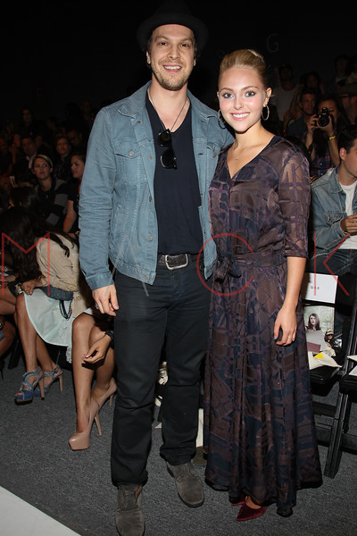 NEW YORK, NY - SEPTEMBER 09:  Gavin Degraw and Annasophia Robb attend the Timo Weiland Spring 2013 Mercedes-Benz Fashion Week Show at The Studio at Lincoln Center on September 9, 2012 in New York City.  (Photo by Steve Mack/S.D. Mack Pictures)