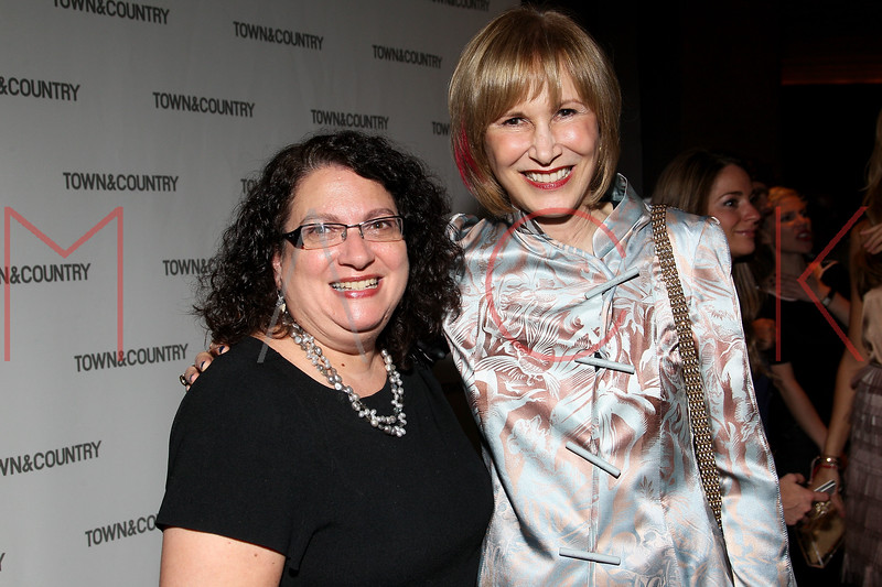 NEW YORK, NY - SEPTEMBER 05:  Bonnie Barest and Valerie Salembier attend Town & Country Editor-In-Chief Anniversary Party on September 5, 2012 in New York City.  (Photo by Steve Mack/S.D. Mack Pictures)