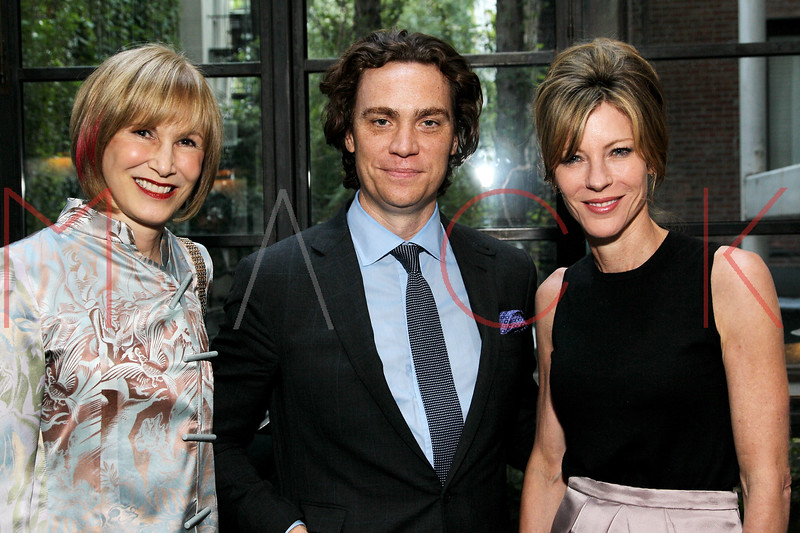NEW YORK, NY - SEPTEMBER 05:  Valerie Salembier, Jay Fielden and Roberta Myers attend Town & Country Editor-In-Chief Anniversary Party on September 5, 2012 in New York City.  (Photo by Steve Mack/S.D. Mack Pictures)