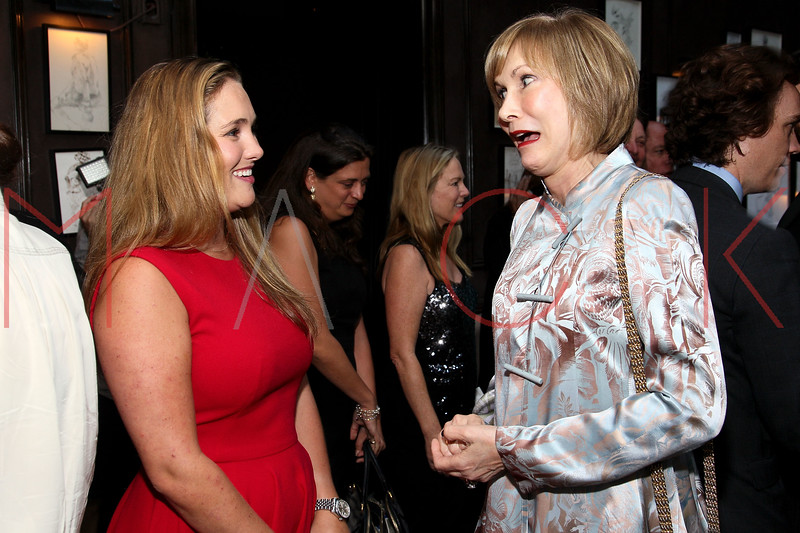 NEW YORK, NY - SEPTEMBER 05:  Gillian Hearst and Valerie Salembier attend Town & Country Editor-In-Chief Anniversary Party on September 5, 2012 in New York City.  (Photo by Steve Mack/S.D. Mack Pictures)