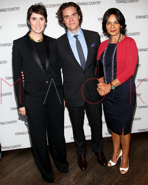 NEW YORK, NY - SEPTEMBER 05:  Elizabeth Musmanno, Jay Fielden and Sima Ghadamin attend Town & Country Editor-In-Chief Anniversary Party on September 5, 2012 in New York City.  (Photo by Steve Mack/S.D. Mack Pictures)