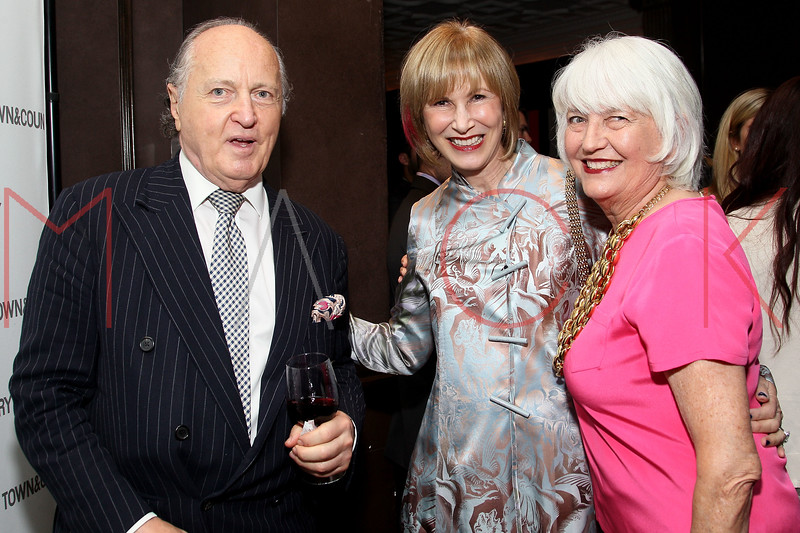 NEW YORK, NY - SEPTEMBER 05:  Mario Buatta, Valerie Salembier and Ellen Levine attend Town & Country Editor-In-Chief Anniversary Party on September 5, 2012 in New York City.  (Photo by Steve Mack/S.D. Mack Pictures)