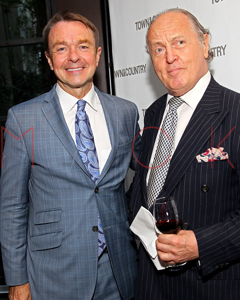 NEW YORK, NY - SEPTEMBER 05:  Michael Clinton and Mario Buatta attend Town & Country Editor-In-Chief Anniversary Party on September 5, 2012 in New York City.  (Photo by Steve Mack/S.D. Mack Pictures)