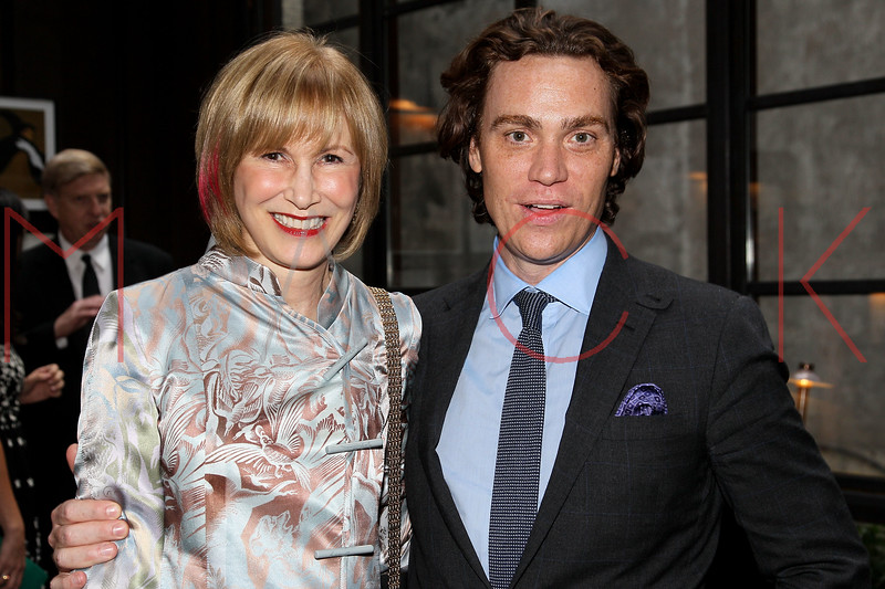NEW YORK, NY - SEPTEMBER 05:  Valerie Salembier and Jay Fielden attend Town & Country Editor-In-Chief Anniversary Party on September 5, 2012 in New York City.  (Photo by Steve Mack/S.D. Mack Pictures)