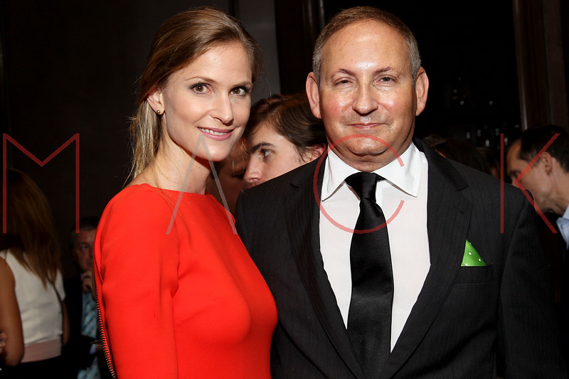 NEW YORK, NY - SEPTEMBER 05:  Annelise Peterson and John Demsey attend Town & Country Editor-In-Chief Anniversary Party on September 5, 2012 in New York City.  (Photo by Steve Mack/S.D. Mack Pictures)