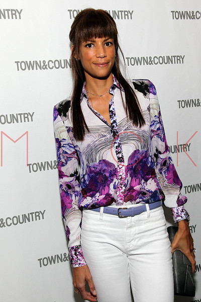 NEW YORK, NY - SEPTEMBER 05:  Veronica Webb attends Town & Country Editor-In-Chief Anniversary Party on September 5, 2012 in New York City.  (Photo by Steve Mack/S.D. Mack Pictures)