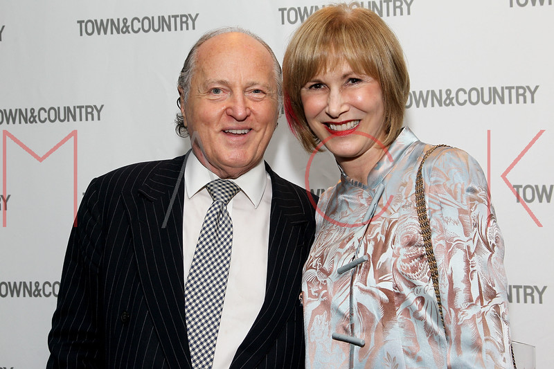 NEW YORK, NY - SEPTEMBER 05:  Mario Buatta and Valerie Salembier attend Town & Country Editor-In-Chief Anniversary Party on September 5, 2012 in New York City.  (Photo by Steve Mack/S.D. Mack Pictures)