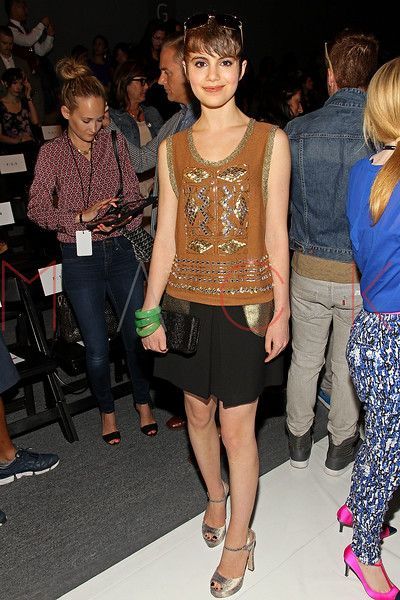 NEW YORK, NY - SEPTEMBER 09:  Sami Gayle attends the Tracy Reese Spring 2013 Mercedes-Benz Fashion Week Show at The Studio Lincoln Center on September 9, 2012 in New York City.  (Photo by Steve Mack/S.D. Mack Pictures) *** Local Caption *** Sami Gayle