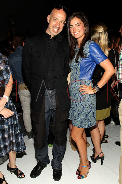 NEW YORK, NY - SEPTEMBER 09:  Robert Verdi and Katie Lee Joel attend the Tracy Reese Spring 2013 Mercedes-Benz Fashion Week Show at The Studio Lincoln Center on September 9, 2012 in New York City.  (Photo by Steve Mack/S.D. Mack Pictures) *** Local Caption *** Robert Verdi; Katie Lee Joel