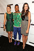 NEW YORK, NY - SEPTEMBER 09:  Lauren Conrad, Tracy Reese and Odette Annable attend the Tracy Reese Spring 2013 Mercedes-Benz Fashion Week Show at The Studio Lincoln Center on September 9, 2012 in New York City.  (Photo by Steve Mack/S.D. Mack Pictures) *** Local Caption *** Lauren Conrad; Tracy Reese; Odette Annable