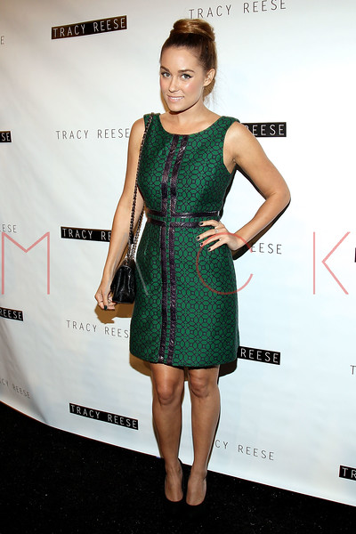 NEW YORK, NY - SEPTEMBER 09:  Lauren Conrad attends the Tracy Reese Spring 2013 Mercedes-Benz Fashion Week Show at The Studio Lincoln Center on September 9, 2012 in New York City.  (Photo by Steve Mack/S.D. Mack Pictures) *** Local Caption *** Lauren Conrad