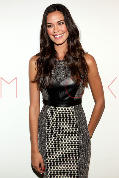 NEW YORK, NY - SEPTEMBER 09:  Odette Annable attends the Tracy Reese Spring 2013 Mercedes-Benz Fashion Week Show at The Studio Lincoln Center on September 9, 2012 in New York City.  (Photo by Steve Mack/S.D. Mack Pictures) *** Local Caption *** Odette Annable