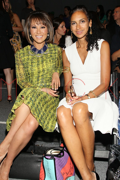NEW YORK, NY - SEPTEMBER 09:  Alina Cho and Susan Fales-Hill attend the Tracy Reese Spring 2013 Mercedes-Benz Fashion Week Show at The Studio Lincoln Center on September 9, 2012 in New York City.  (Photo by Steve Mack/S.D. Mack Pictures) *** Local Caption *** Alina Cho; Susan Fales-Hill