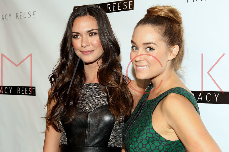 NEW YORK, NY - SEPTEMBER 09:  Odette Annable and Lauren Conrad attend the Tracy Reese Spring 2013 Mercedes-Benz Fashion Week Show at The Studio Lincoln Center on September 9, 2012 in New York City.  (Photo by Steve Mack/S.D. Mack Pictures) *** Local Caption *** Odette Annable; Lauren Conrad