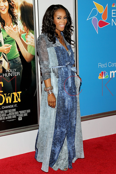 "NEW YORK, NY - SEPTEMBER 23:  June Ambrose attends the ""Won't Back Down"" premiere at Ziegfeld Theater on September 23, 2012 in New York City.  (Photo by Steve Mack/S.D. Mack Pictures)"
