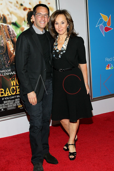 """NEW YORK, NY - SEPTEMBER 23:  Dave Price and Rosanna Scotto attend the """"Won't Back Down"""" premiere at Ziegfeld Theater on September 23, 2012 in New York City.  (Photo by Steve Mack/S.D. Mack Pictures)"""