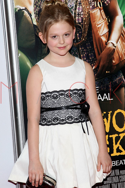 """NEW YORK, NY - SEPTEMBER 23:  Emily Alyn Lind attends the """"Won't Back Down"""" premiere at Ziegfeld Theater on September 23, 2012 in New York City.  (Photo by Steve Mack/S.D. Mack Pictures)"""