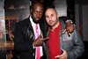 NEW YORK, NY - SEPTEMBER 14:  Wyclef Jean and Alex Meskouri at HK Lounge on September 14, 2012 in New York City.  (Photo by Steve Mack/S.D. Mack Pictures)