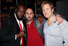 NEW YORK, NY - SEPTEMBER 14:  Wyclef Jean, Alex Meskouri and Rob Schaffer at HK Lounge on September 14, 2012 in New York City.  (Photo by Steve Mack/S.D. Mack Pictures)