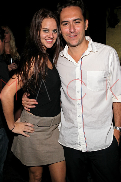 NEW YORK, NY - SEPTEMBER 14:  Bonnie Cheney and Peter James Cryan at HK Lounge on September 14, 2012 in New York City.  (Photo by Steve Mack/S.D. Mack Pictures)