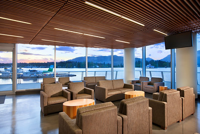 PUBLIC & INSTITUTIONAL  AWARD OF MERITVANCOUVER HARBOUR FLOAT PLANE TERMINAL MCM Interiors Edith Wormsbecker, RID