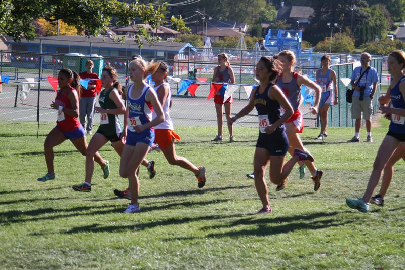 Varsity Flight 7 Girls (#1 runner)<br /> 39th Annual Sunfair Invitational