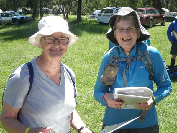 Anne Sawkins and Kathy Saw
