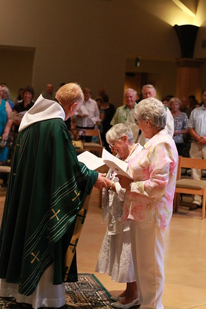 07-14-12 Sr. Dorthy Baker takes her final Vows