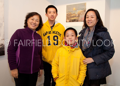 """Rye Arts Center """"From Where I Stand"""" reception 11-18-12"""