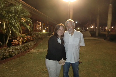 Past President Kenny Goodman and Executive Director Nicole Ratner