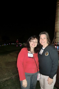Meetings Administrator Melissa Benowitz and Executive Director Nicole Ratner at the Welcome Reception & Night Golf
