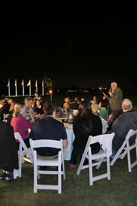 President Bob Driegert welcoming the group