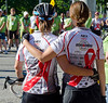 I took this shot on July 29, 2012 as we were about to leave Toronto from Queen's Park on the Friends for Life Bike Rally to Montreal.