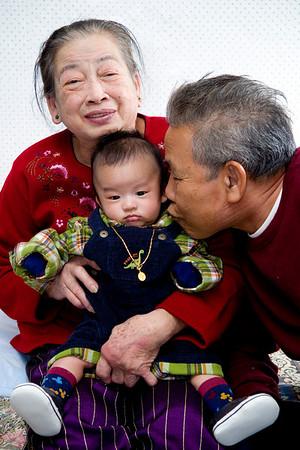 Family Christmas LA: December 25, 2012