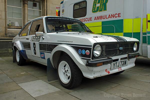 Bradford Classic  Car Rally 2012