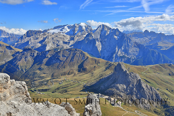The Dolomite Mountains in Northern Italy; one of Bonnie's favorite places