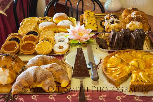 Breakfast goodies at Sirmione