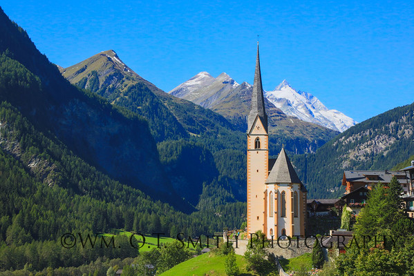 """Another calendar shot this one is the church called Heilengenblut """"the Holy Blood"""" in Austria."""
